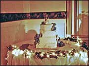 Wedding Cake Table Decoration Sample